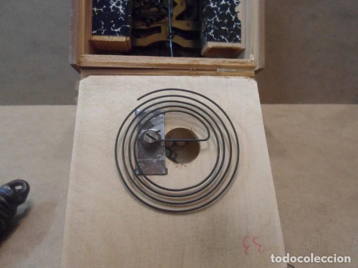 Relojes de pared: RELOJ DE CUCO DE MADERA - Foto 4 - 130528310