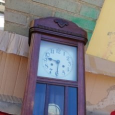 Relojes de pared: ANTIGUO RELOJ DE PARED SIGLO XIX. Lote 130869305