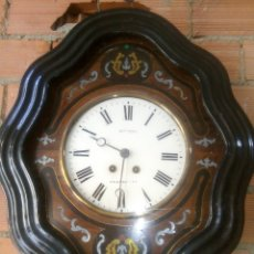 Relojes de pared: PRECIOSO OJO DE BUEY , FUNCIONANDO. Lote 130906368