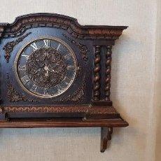 Relojes de pared: J- ANTIGUO Y EXCLUSIVO RELOJ DEASCONOZCO ANTIGUEDAD. Lote 131168008