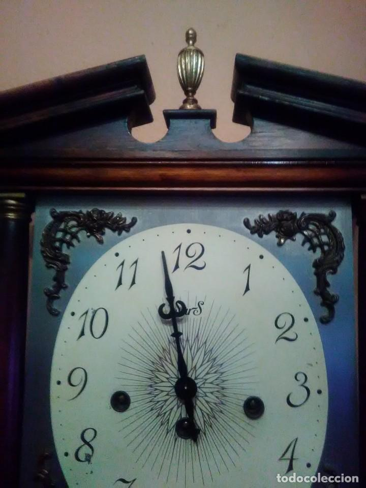 Relojes de pared: RELOJ DE PARED ANTIGUO CARILLÓN . - Foto 3 - 131941374