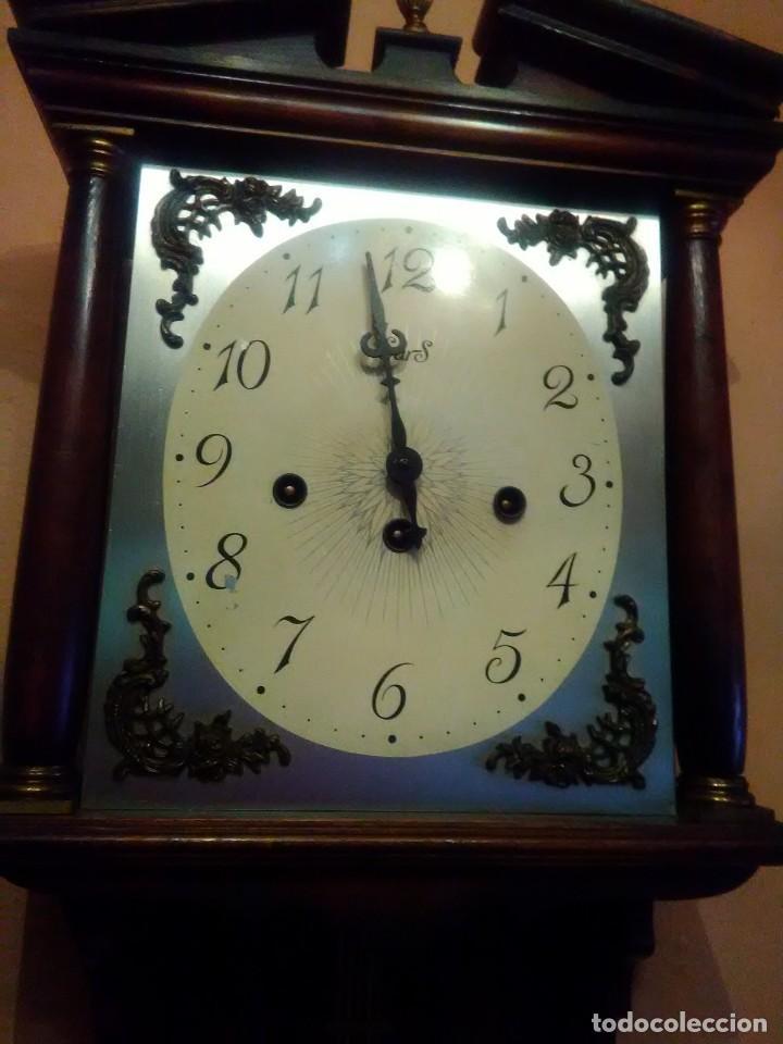 Relojes de pared: RELOJ DE PARED ANTIGUO CARILLÓN . - Foto 4 - 131941374