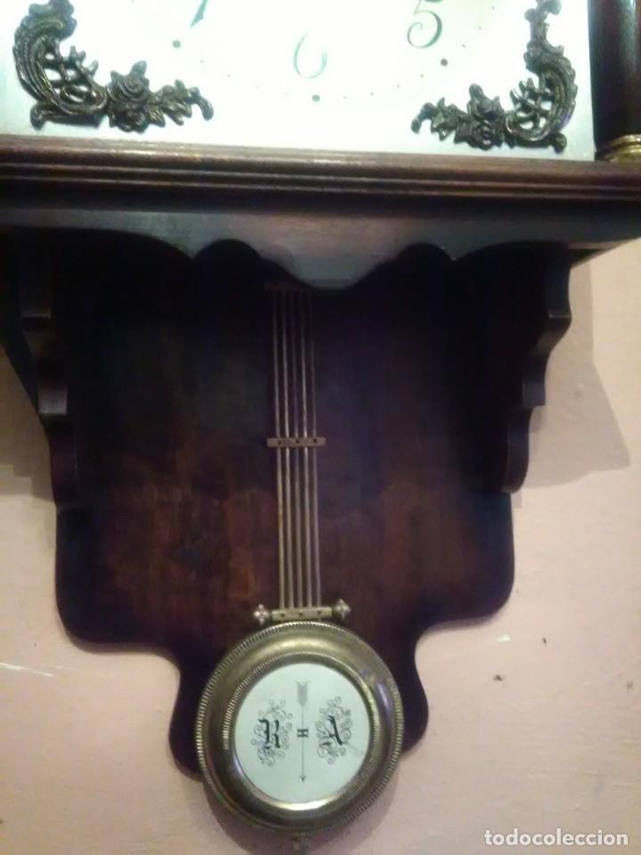 Relojes de pared: RELOJ DE PARED ANTIGUO CARILLÓN . - Foto 5 - 131941374