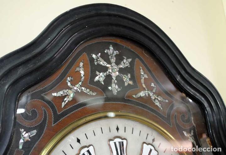 Relojes de pared: RELOJ ANTIGUO DE PARED - RELOJ OJO DE BUEY - Foto 4 - 131987382