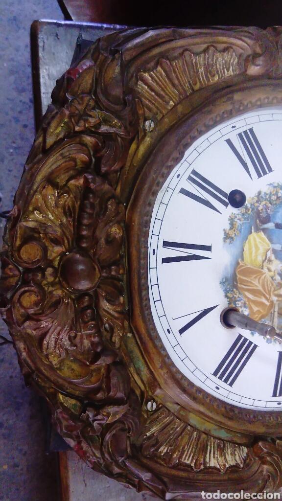 Relojes de pared: RELOJ DE PÉNDULO - Foto 2 - 132101473
