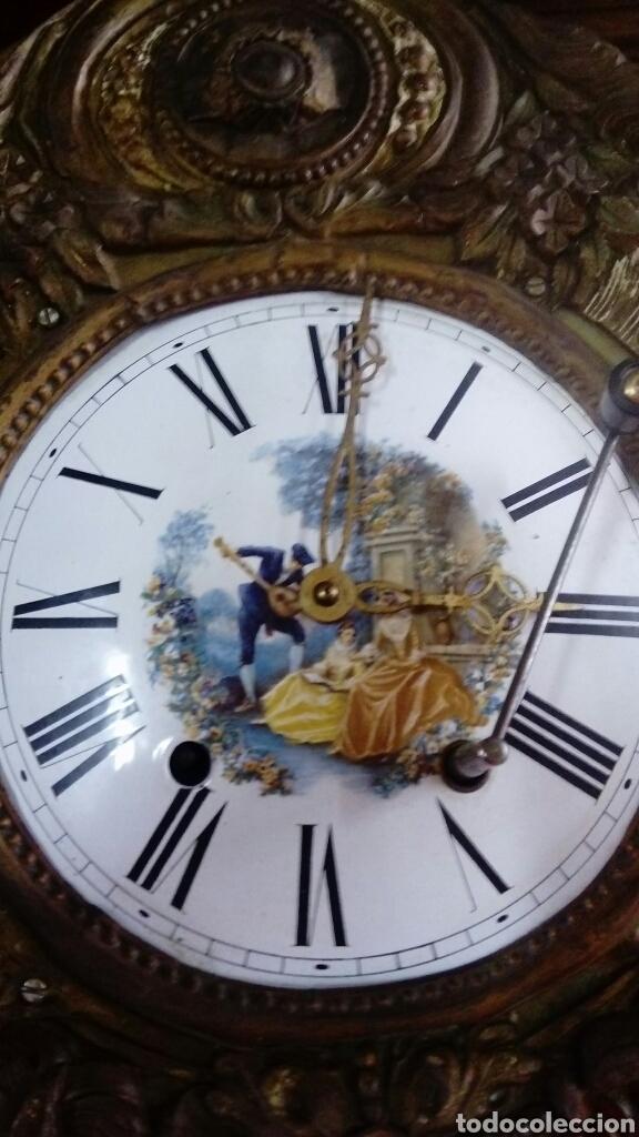 Relojes de pared: RELOJ DE PÉNDULO - Foto 3 - 132101473