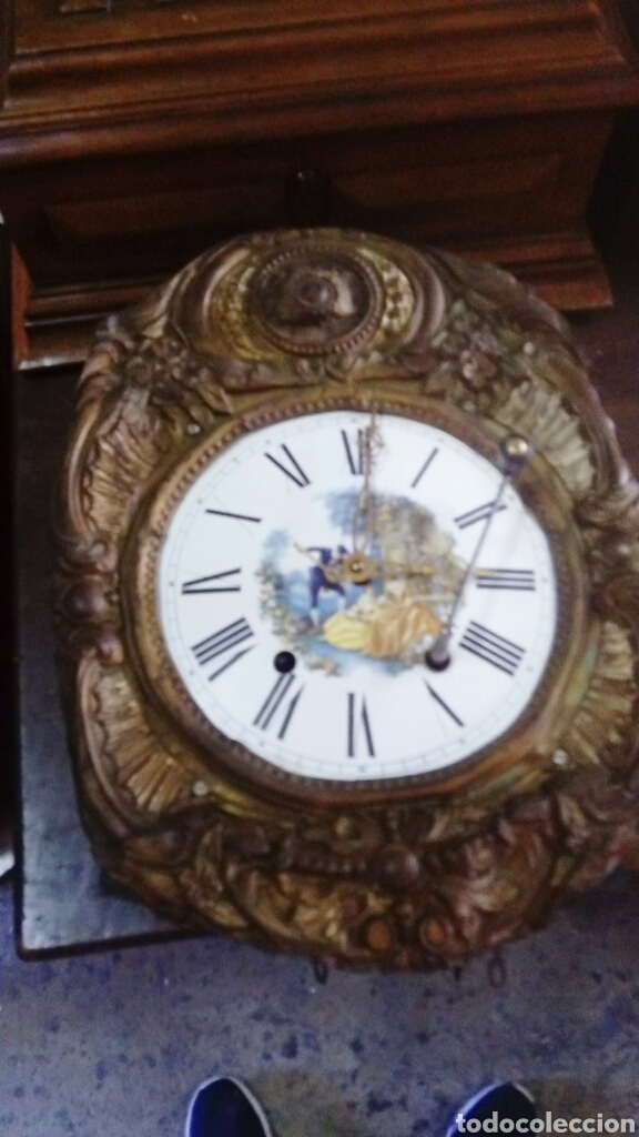 Relojes de pared: RELOJ DE PÉNDULO - Foto 11 - 132101473