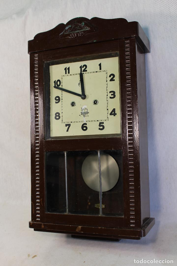 Relojes de pared: RELOJ DE PARED alcoy FUNCIONANDO - Foto 4 - 143672280