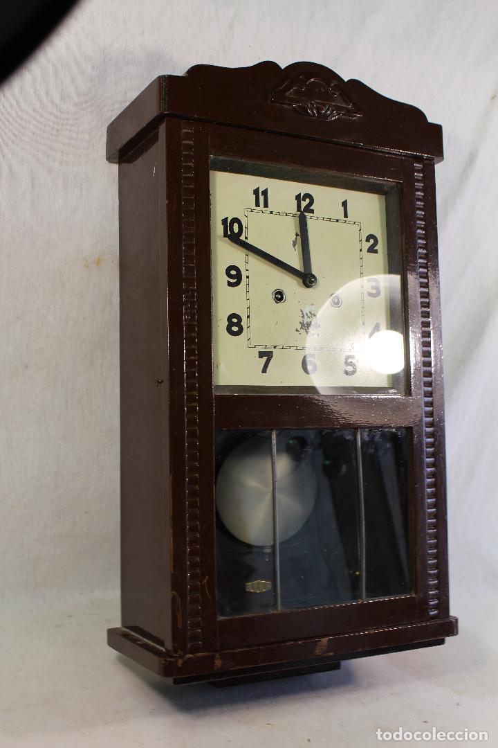 Relojes de pared: RELOJ DE PARED alcoy FUNCIONANDO - Foto 6 - 143672280