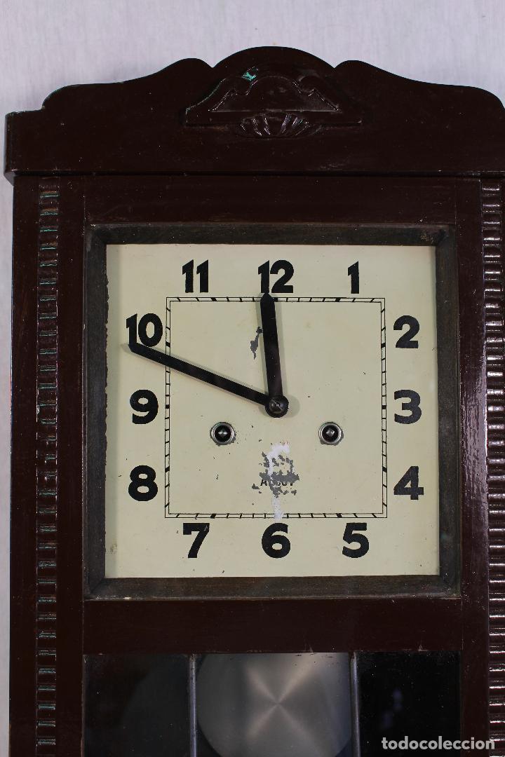 Relojes de pared: RELOJ DE PARED alcoy FUNCIONANDO - Foto 8 - 143672280
