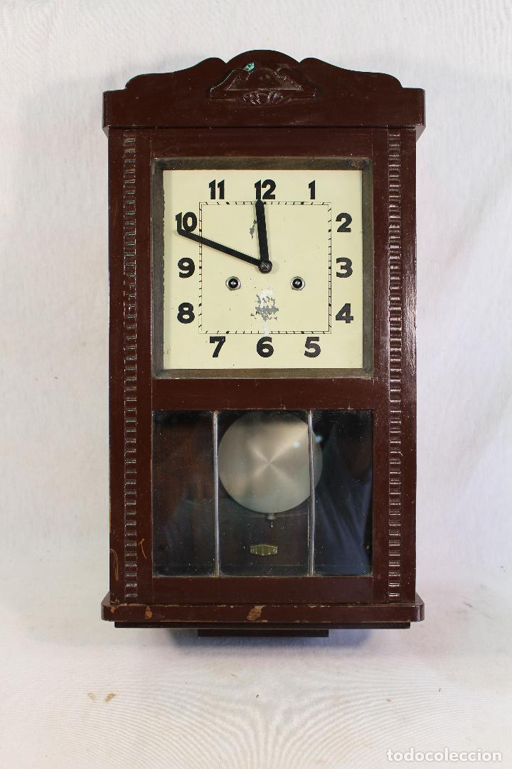 Relojes de pared: RELOJ DE PARED alcoy FUNCIONANDO - Foto 9 - 143672280