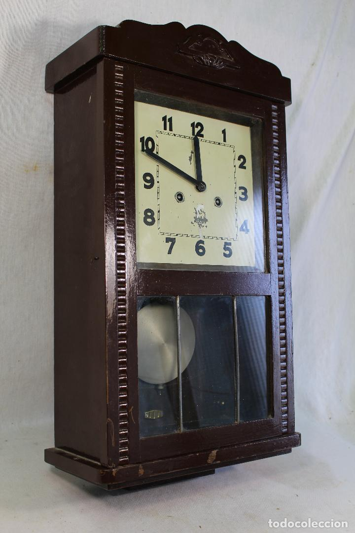 Relojes de pared: RELOJ DE PARED alcoy FUNCIONANDO - Foto 10 - 143672280