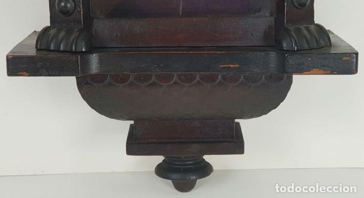 Relojes de pared: RELOJ DE PARED. ESTILO MODERNISTA. SIGLO XIX-XX. - Foto 3 - 132874834