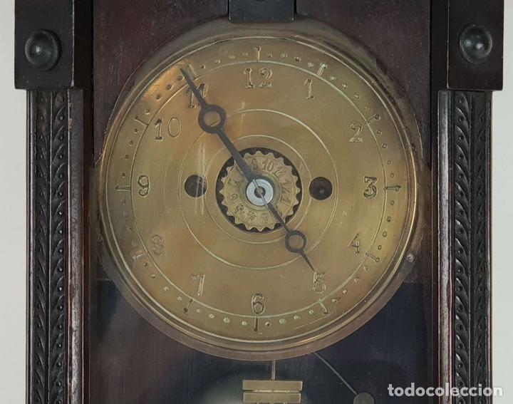 Relojes de pared: RELOJ DE PARED. ESTILO MODERNISTA. SIGLO XIX-XX. - Foto 4 - 132874834
