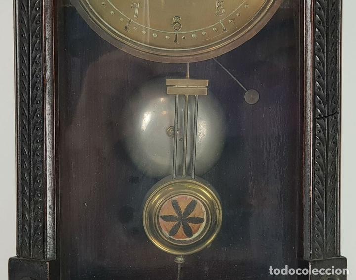 Relojes de pared: RELOJ DE PARED. ESTILO MODERNISTA. SIGLO XIX-XX. - Foto 6 - 132874834