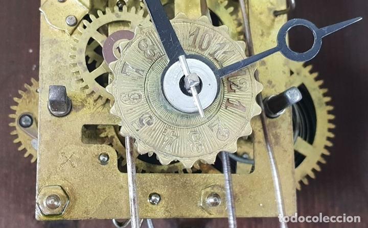 Relojes de pared: RELOJ DE PARED. ESTILO MODERNISTA. SIGLO XIX-XX. - Foto 10 - 132874834