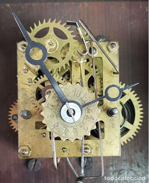 Relojes de pared: RELOJ DE PARED. ESTILO MODERNISTA. SIGLO XIX-XX. - Foto 11 - 132874834