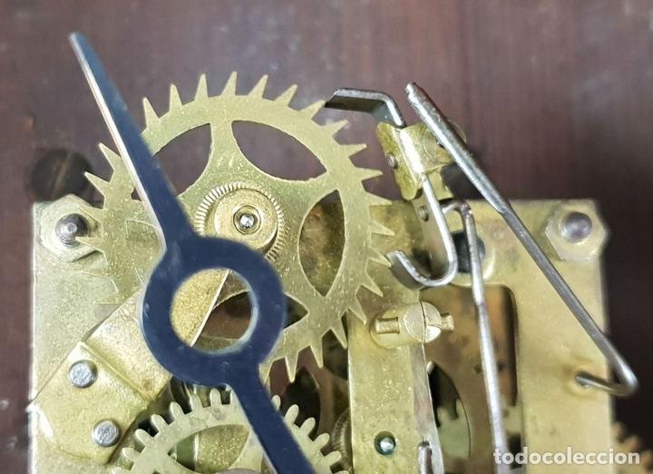 Relojes de pared: RELOJ DE PARED. ESTILO MODERNISTA. SIGLO XIX-XX. - Foto 13 - 132874834