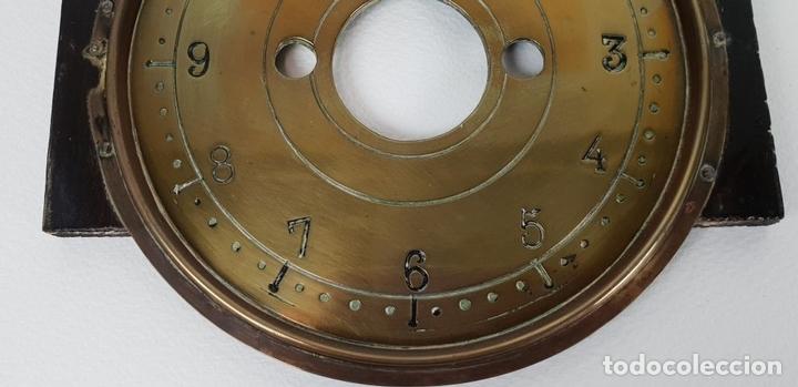 Relojes de pared: RELOJ DE PARED. ESTILO MODERNISTA. SIGLO XIX-XX. - Foto 14 - 132874834