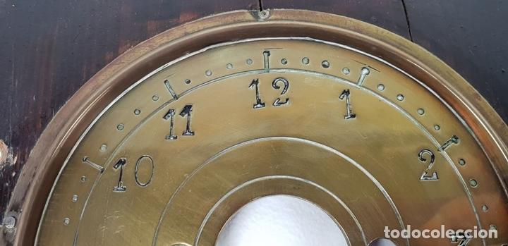 Relojes de pared: RELOJ DE PARED. ESTILO MODERNISTA. SIGLO XIX-XX. - Foto 15 - 132874834