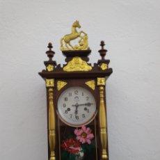 Relojes de pared: RELOJ DE PARED A CUERDAS CON SONERIA. Lote 133262411