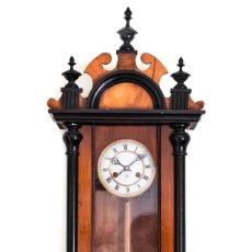 Relojes de pared: ESPECTACULAR RELOJ DE PARED DE LA CASA JUNGHANS, DE ORIGEN ALEMÁN DE LOS AÑOS 1920 Y FUNCIONANDO. Lote 133585062