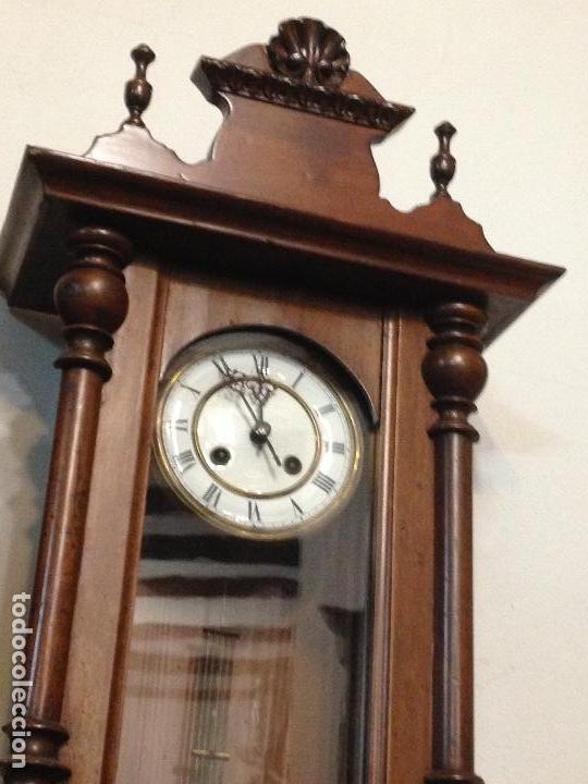Relojes de pared: Reloj de pared Alfonsino , Restaurado , finales del siglo XIX - Foto 2 - 108739283