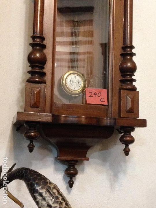 Relojes de pared: Reloj de pared Alfonsino , Restaurado , finales del siglo XIX - Foto 3 - 108739283