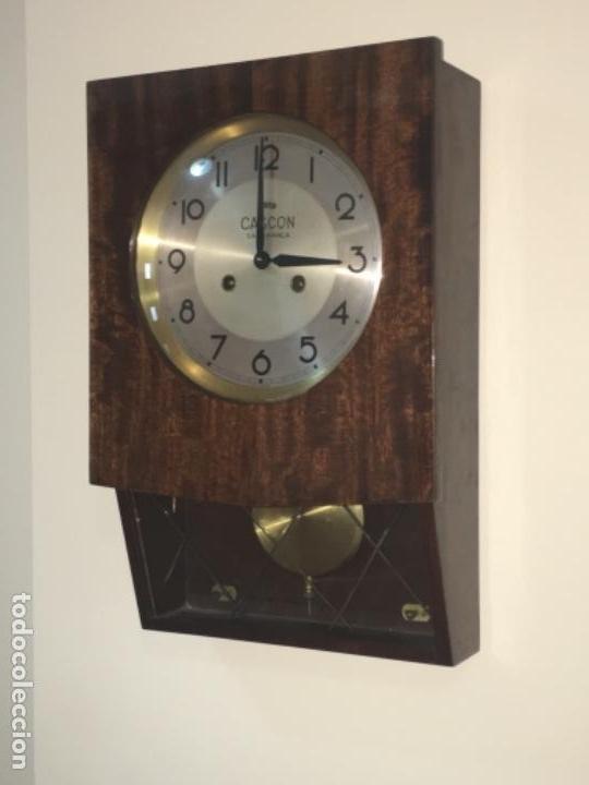 Relojes de pared: RELOJ ANTIGUO DE PARED - CASCON - SALAMANCA - Foto 2 - 133646522