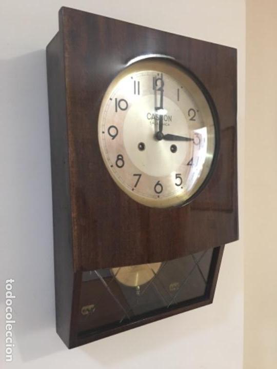 RELOJ ANTIGUO DE PARED - CASCON - SALAMANCA (Relojes - Pared Carga Manual)