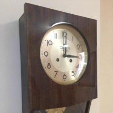Relojes de pared: RELOJ ANTIGUO DE PARED - CASCON - SALAMANCA. Lote 133646522