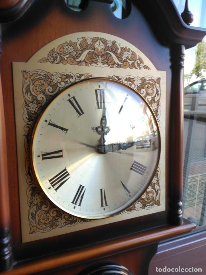 Relojes de pared: Reloj de pared con termómetro barómetro e higrómetro, años 80 - Foto 2 - 134116718