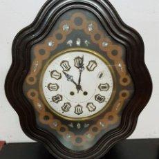 Relojes de pared: RELOJ OJO DE BUEY ANTIGUO. Lote 134813086