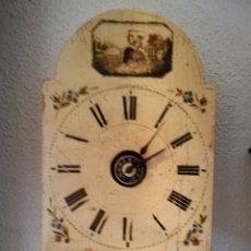 Relojes de pared: RELOJ RATERA. SELVA NEGRA.1850. VER FOTOS. MOVIMIENTO EN MADERA. SONERIA. LEEME. Lote 114413814