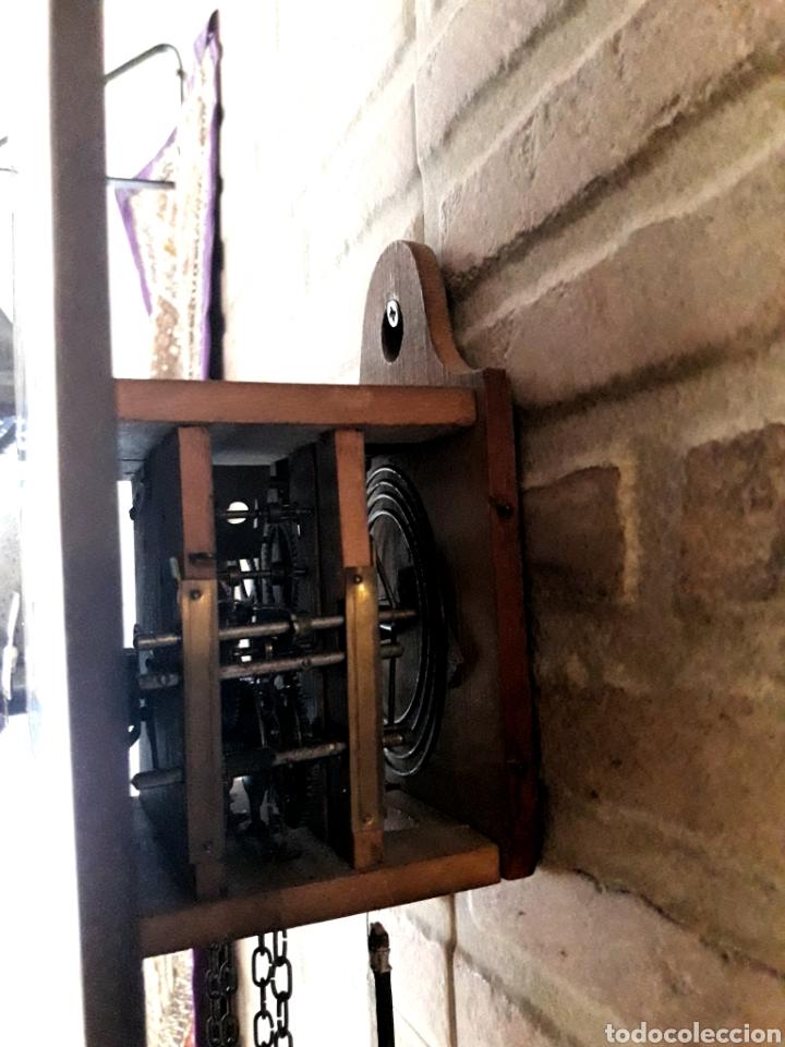 Relojes de pared: RELOJ RATERA. SELVA NEGRA.1850. VER FOTOS. MOVIMIENTO EN MADERA. SONERIA. LEEME - Foto 2 - 114413814