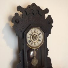 Relojes de pared: ANTIGUO RELOJ DE PARED O SOBREMESA - WATERBURY CO. ESTADOS UNIDOS - USA. Lote 136257110