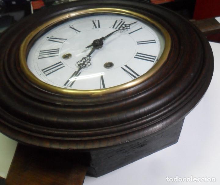 Relojes de pared: Antiguo Reloj Ojo de Buey - Maquinaria Morez - Funciona - Foto 8 - 136492162