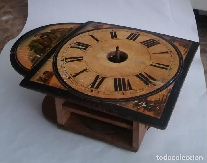 Relojes de pared: Ratera maquinaria completa y funcionando, sonería gong reloj original selva negra antiguo 1850 s XIX - Foto 26 - 137743418