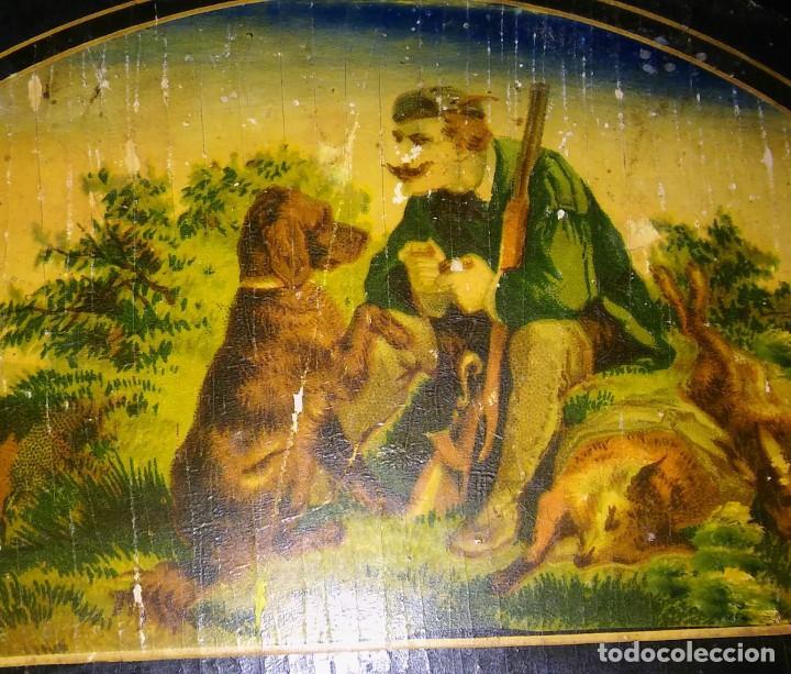 Relojes de pared: Ratera maquinaria completa y funcionando, sonería gong reloj original selva negra antiguo 1850 s XIX - Foto 27 - 137743418