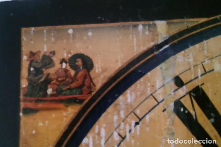 Relojes de pared: Ratera maquinaria completa y funcionando, sonería gong reloj original selva negra antiguo 1850 s XIX - Foto 29 - 137743418