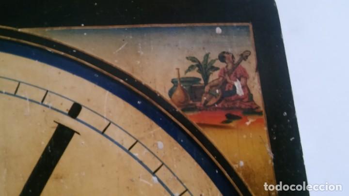Relojes de pared: Ratera maquinaria completa y funcionando, sonería gong reloj original selva negra antiguo 1850 s XIX - Foto 30 - 137743418