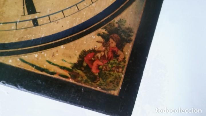 Relojes de pared: Ratera maquinaria completa y funcionando, sonería gong reloj original selva negra antiguo 1850 s XIX - Foto 31 - 137743418