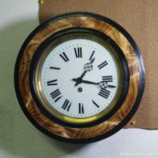 Relojes de pared: RELOJ OJO DE BUEY BIBLIOTECA - FUNCIONA . Lote 137998662
