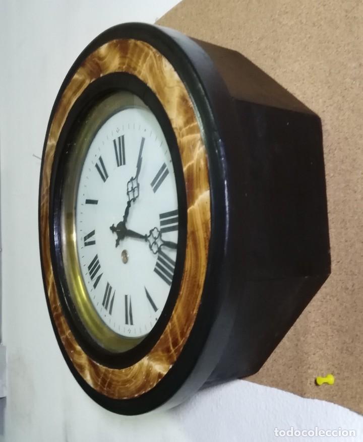 Relojes de pared: Reloj Ojo de Buey Biblioteca - Funciona - Foto 2 - 137998662