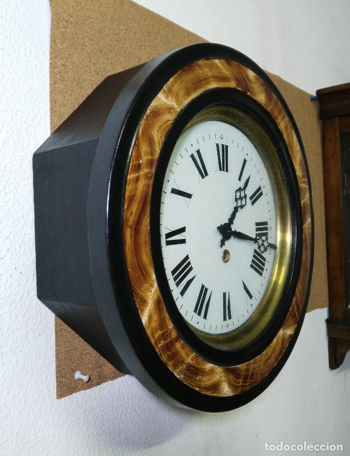Relojes de pared: Reloj Ojo de Buey Biblioteca - Funciona - Foto 3 - 137998662