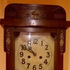 Relojes de pared: RELOJ DE PARED.ESTILO ART-DECÓ.MEDIDA 78X30.. Lote 138821994