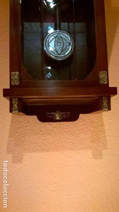 Relojes de pared: Reloj de pared.Estilo art-decó.Medida 78x30. - Foto 3 - 138821994
