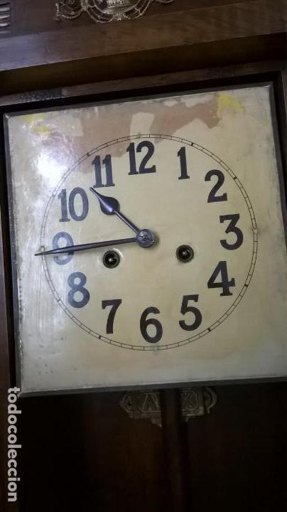 Relojes de pared: Reloj de pared.Estilo art-decó.Medida 78x30. - Foto 10 - 138821994