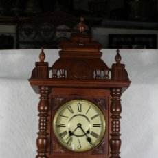Relojes de pared: RELOJ DE PARED FUNCIONANDO MAQUINARIA . Lote 139378334
