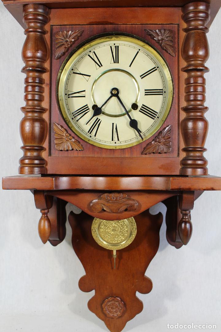 Relojes de pared: RELOJ DE PARED FUNCIONANDO MAQUINARIA - Foto 4 - 139378334